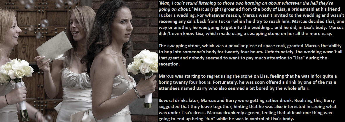 Wedding Infiltration   The TG Caption Site